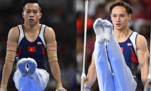 Chênh lệch trình độ quá lớn, 2 'hot boy' Thể dục dụng cụ Việt Nam ngậm ngùi chia tay Olympic