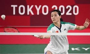 Hot girl cầu lông Nguyễn Thuỳ Linh khiến tay vợt số 1 thế giới 'vã mồ hôi' ở Olympic Tokyo