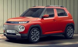 Hyundai Casper 2022 - phiên bản SUV của Hyundai i10 chính thức lộ diện, thiết kế táo bạo