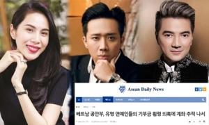 Truyền thông Hàn đưa tin vụ Thủy Tiên, Trấn Thành cùng loạt nghệ sĩ Việt bị cáo buộc chiếm dụng tiền từ thiện