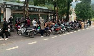 Công an vây bắt 190 nam nữ thanh niên tụ tập đua xe trên đường lên Tam Đảo