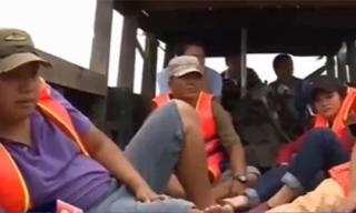 Nổ súng trấn áp cát tặc trên sông Đồng Nai