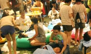 Gần 200 người bị thương vì cháy nổ tại công viên nước Đài Loan