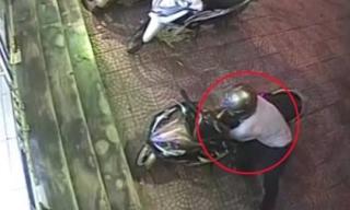 Người đàn ông trộm xe máy bị bắt quả tang ngay tại trận