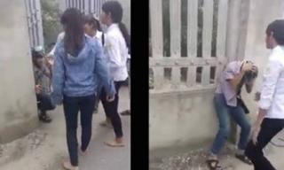 Nhóm nữ sinh Thanh Hóa cầm gậy đánh hội đồng bạn nam