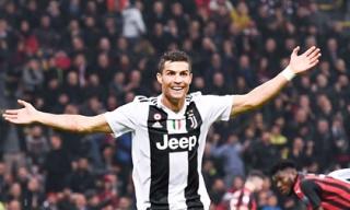 Ronaldo tung cú volley 'cháy lưới', Juve hạ gục AC Milan ngay trên San Siro