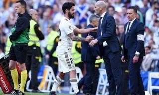 Zidane trở lại, Real lập tức ca khúc khải hoàn