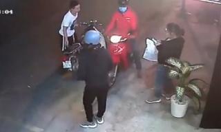 Người phụ nữ bị cướp giật điện thoại ngay giữa phố Sài Gòn