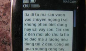Vụ cụ bà 83 tuổi bị 'giam lỏng': Hàng loạt tin nhắn hăm dọa từ nước ngoài