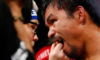 Sốc: Pacquiao đối mặt với án tù vì gian dối trước trận so găng thế kỷ