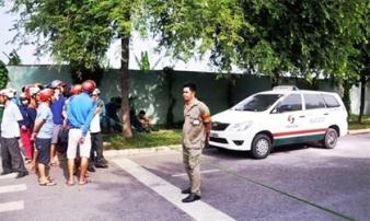 Tài xế chết trong xe taxi sau tiếng nổ ở Sài Gòn