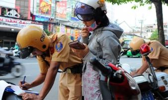 Kể từ tháng 8, nhiều mức phạt vi phạm giao thông tăng thêm đến 8 triệu đồng