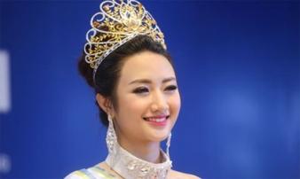 Hoa hậu Bản sắc Việt nói về nghi vấn biết trước câu hỏi