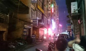 Hà Nội: Nổ lớn ở khách sạn, 1 người bị bỏng nặng