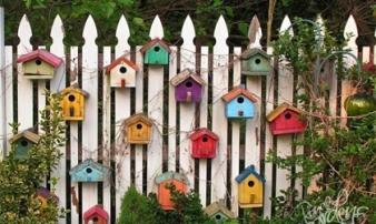 'Hô biến' tường rào cho ngôi nhà thêm ấn tượng