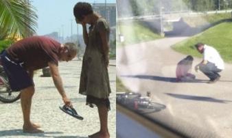 Những hình ảnh trong cuộc sống khiến cả thế giới phải khóc