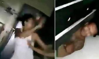 Mẹ chồng 'phục kích', bắt quả tang con dâu giấu nhân tình dưới gầm giường