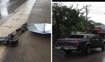 Khởi tố vụ án kẻ lái xe tông thẳng nhóm phóng viên VTV