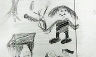 Bức vẽ nguệch ngoạc của bé gái 10 tuổi vạch trần tội ác không thể dung thứ của chú ruột
