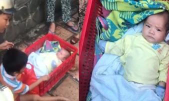 Vụ 2 bé trai bị bỏ rơi trên vỉa hè Sài Gòn: Quá nhớ con, mẹ quay lại nhận hai anh em về nhà