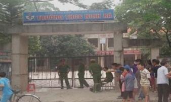 Bảo vệ trường học nghi bị sát hại: Hiện trường có dấu hiệu giằng co