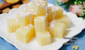 Thạch đậu xanh cốt dừa mát lừ nhất định phải thử trong ngày hè
