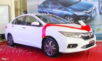 Chi tiết Honda City 2017 giá từ 568 triệu vừa bán ở Việt Nam