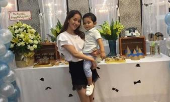 Khánh Thi tổ chức sinh nhật ấm cúng mừng Kubi sang tuổi thứ 2