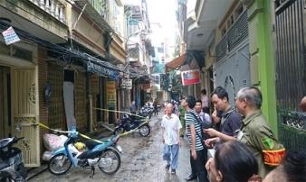 Vụ cháy nhà 4 tầng ở phố Vọng: Bé trai may mắn thoát chết nhờ đi chơi điện tử về muộn