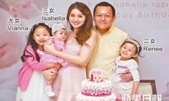 Là vợ đại gia, sống trong nhung lụa, mỹ nhân Hong Kong 3 con gái bị nhà chồng gây áp lực sinh bằng được con trai