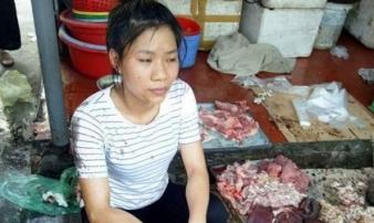 Hai người hắt dầu luyn vào thịt lợn ở Hải Phòng lĩnh án