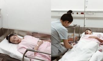 Angela Phương Trinh bất ngờ đăng ảnh nhập viện, nghi bị sốt xuất huyết