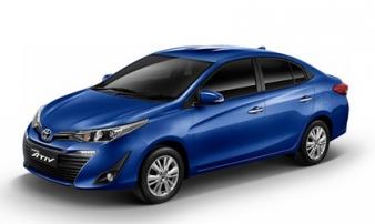 Toyota Yaris Ativ ra mắt, giá từ 320 triệu đồng