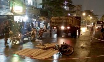 3 thanh niên tử vong sau va chạm xe tải trong đêm ở Sài Gòn
