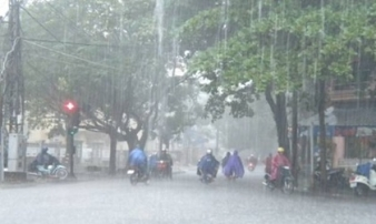 Dự báo thời tiết khẩn 3 ngày tới: Hà Nội mưa lớn do ảnh hưởng của bão Hato