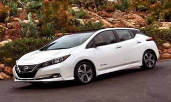 Nissan Leaf 2018: Xe điện đẹp mắt giá 680 triệu đồng