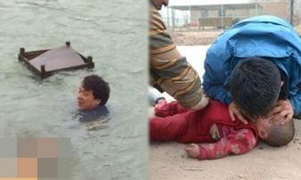 Chồng ghen tuông thả con xuống nước rồi bắt vợ gọi tình cũ đến cứu