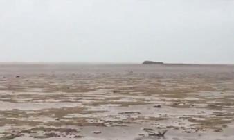 Siêu bão Irma với sức mạnh khủng khiếp hút cạn nước biển, hiện tượng kỳ quái hiếm thấy