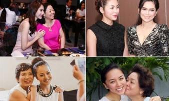 Giàu có, 'hét ra lửa' nhưng 4 bà mẹ chồng của sao Việt vẫn rất thân thiện với con dâu