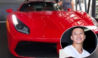 Tuấn Hưng khoe ảnh vừa tậu siêu xe gần 16 tỷ đồng