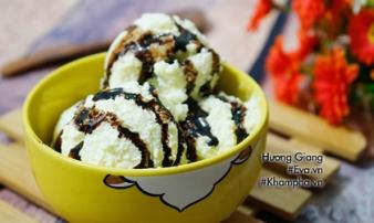 Cách làm kem vani đơn giản tại nhà chỉ với 4 bước