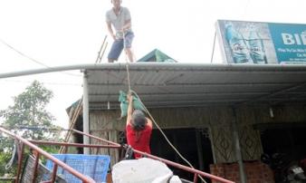 Học sinh Quảng Trị được nghỉ học đến hết bão số 10