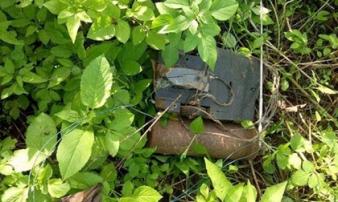 Đắk Lắk: Điều tra vụ phát hiện mìn tự chế được đặt ở hội trường thôn