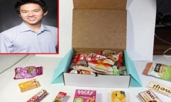 'Soái ca' 27 tuổi kiếm hàng triệu đô trong 18 tháng nhờ đồ ăn vặt