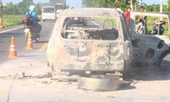 Nữ giám đốc bị thiêu sống trong xe ô tô: Cướp của hay một vụ thanh toán lẫn nhau?