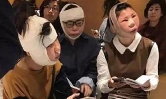 Sang Hàn Quốc phẫu thuật thẩm mỹ, 3 cô gái bị giữ ở sân bay vì khác xa hộ chiếu