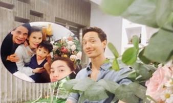 Kim Lý vui vẻ đi dự sinh nhật mẹ Hồ Ngọc Hà sau tin đồn chia tay