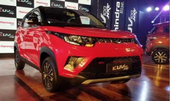 Xe nội địa giá rẻ Mahindra KUV100 NXT chỉ 153 triệu đồng