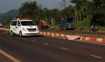 Sau 4 giờ tai nạn mới thấy nạn nhân tử vong cách hiện trường 50m
