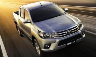 Toyota Hilux 2017 giá từ 631 triệu đồng tại Việt Nam